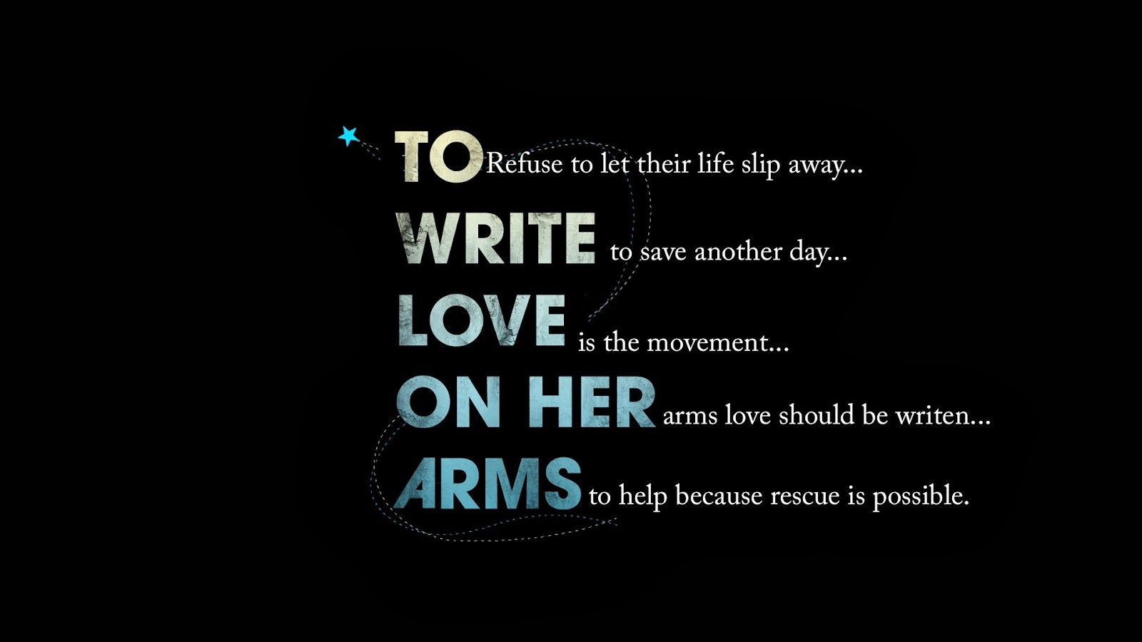 Single Dating: To Write Love On Her Arms