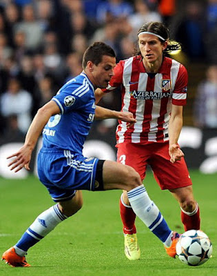 Atletico Madrid, Filipe Luis, From Chelsea