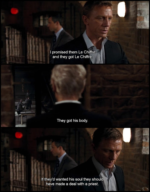Quantum of Solace Movie Quotes