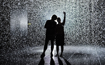 Barbican's Rain Room: It's Raining, But You Won't Get Wet