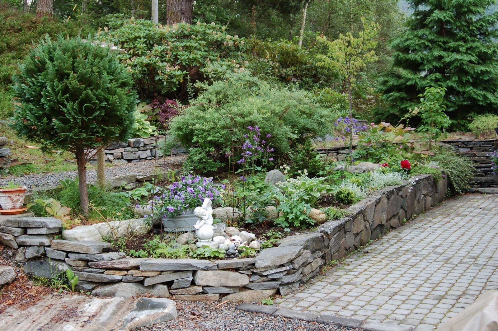 Bestefars Hage: ...mer av hagen