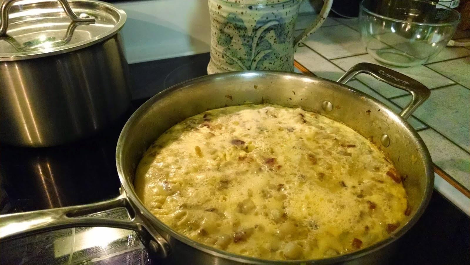 eggs and potato dish