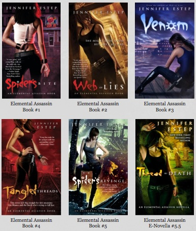 Elemental Assassin Series - Jennifer Estep