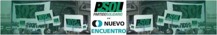 PARTIDO SOLIDARIO en NUEVO ENCUENTRO - CORDOBA