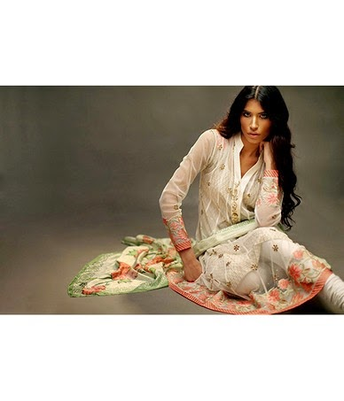 Sania Maskatiya Eid Dress Collection 2014