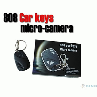Car Key Chain 808 Spy Cam