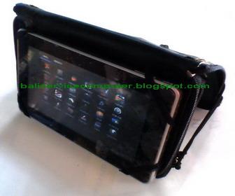 pemakaian android tablet di meja dan rotation screen layar lcd tablet ...
