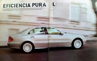 prueba, test, review Mercedes Benz E320 CDI