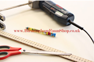 Tools used for Foam Cutting