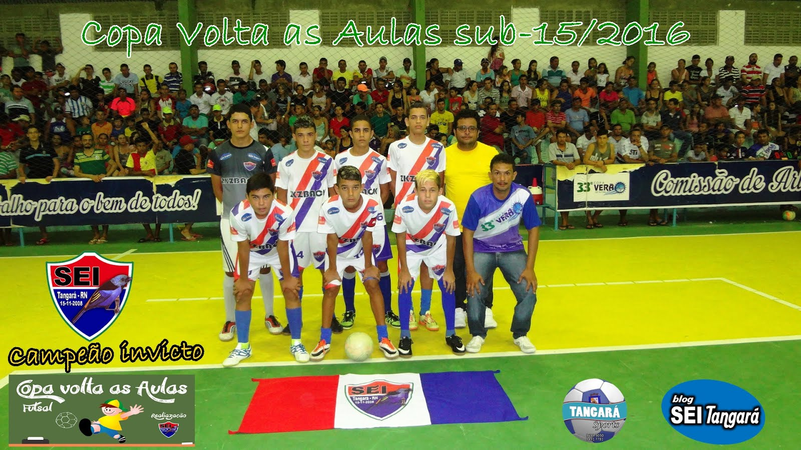 IV COPA VOLTA AS AULAS 2016