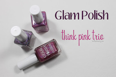 Glam Polish Think Pink Trio by Bedlam Beauty