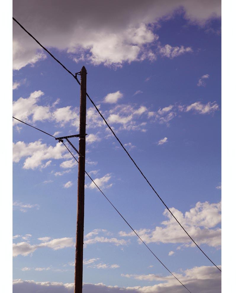 poteau electrique
