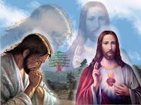 Imagem de Jesus em oração