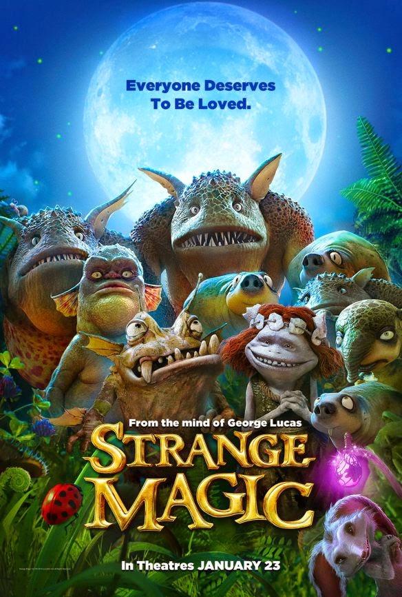 strange magic poster