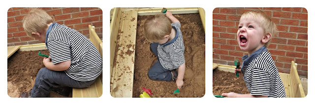 TP Toys, sand, sandpit, wooden sandpit, lidded sandpit, outdoor fun, outdoor play, fun in the sand, review,