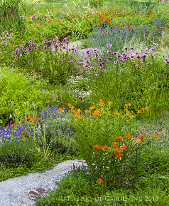 Good ... And Bridges Arise From The Combined Efforts Of The Gardening Staff.  Because The Gardeners Are Encouraged To Be Inventive, The Garden Changes  Dynamically ...