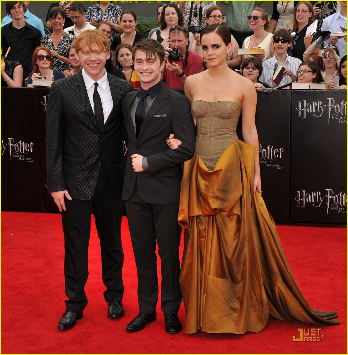 Emma Watson Rupert Grint and