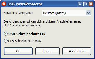 Proteger Memorias Usb, Usb WriteProtector