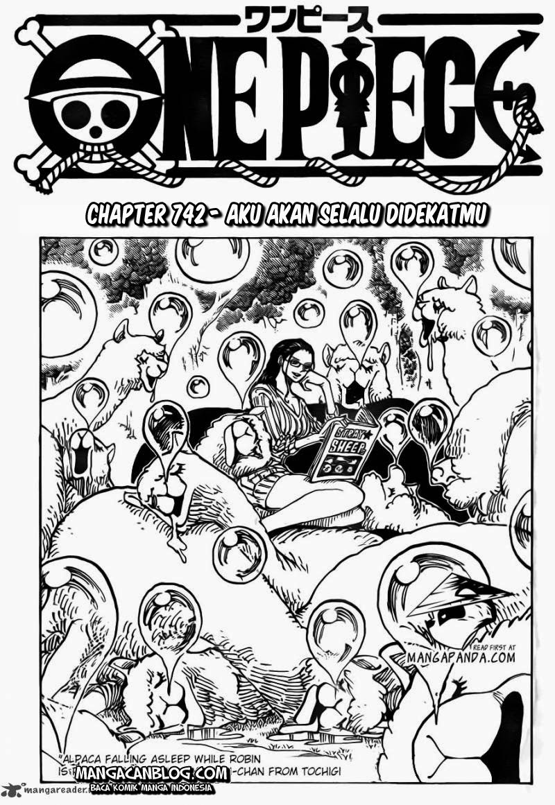 03 One Piece 742   Aku Akan Selalu Didekatmu