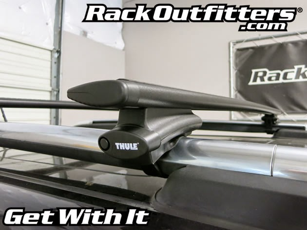 thule roof rack instruction manual