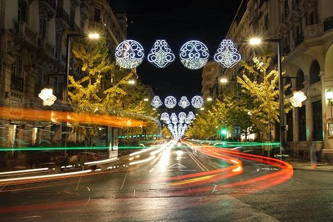 Mercadillo de Navidad, Sevilla, Granada