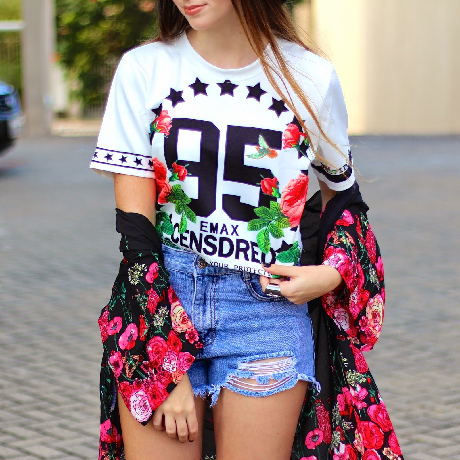 look do dia kimono floral