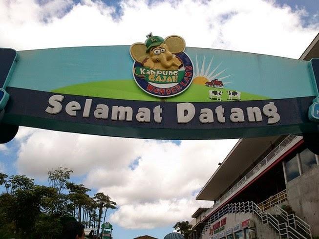 Harga Tiket Masuk Kampong Gajah Wonderland Juni 2014