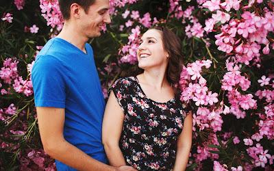 fotos de enamorados mirandose