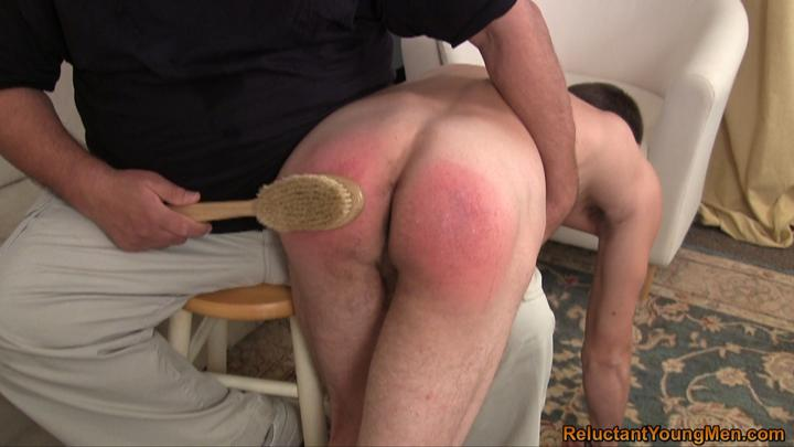 You spank men