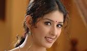 Samiksha in red saree
