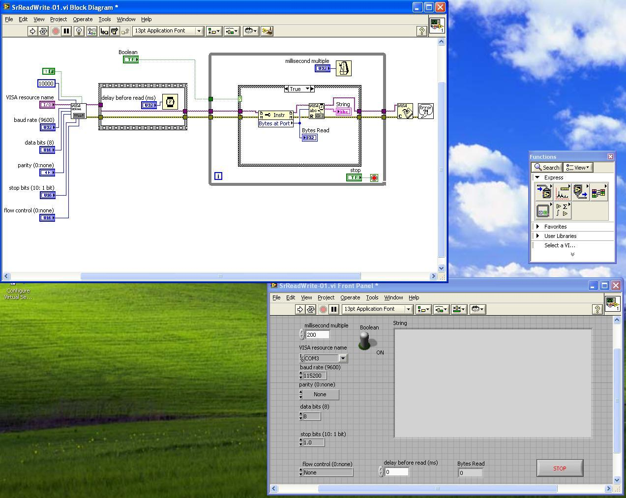 Embedded Systems Description Labview Block Diagramjpg Figure1 Shown Below Contains Both Diagram And Front Panel Of This Code In