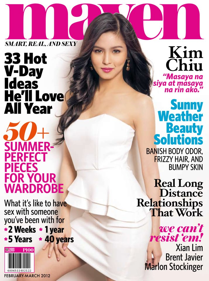 Pic] Kim Chiu for Maven Magazine Feb-Mar 2012 Edition