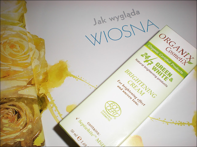 Brightening Cream OrganiX CosmetiX od Biobeauty