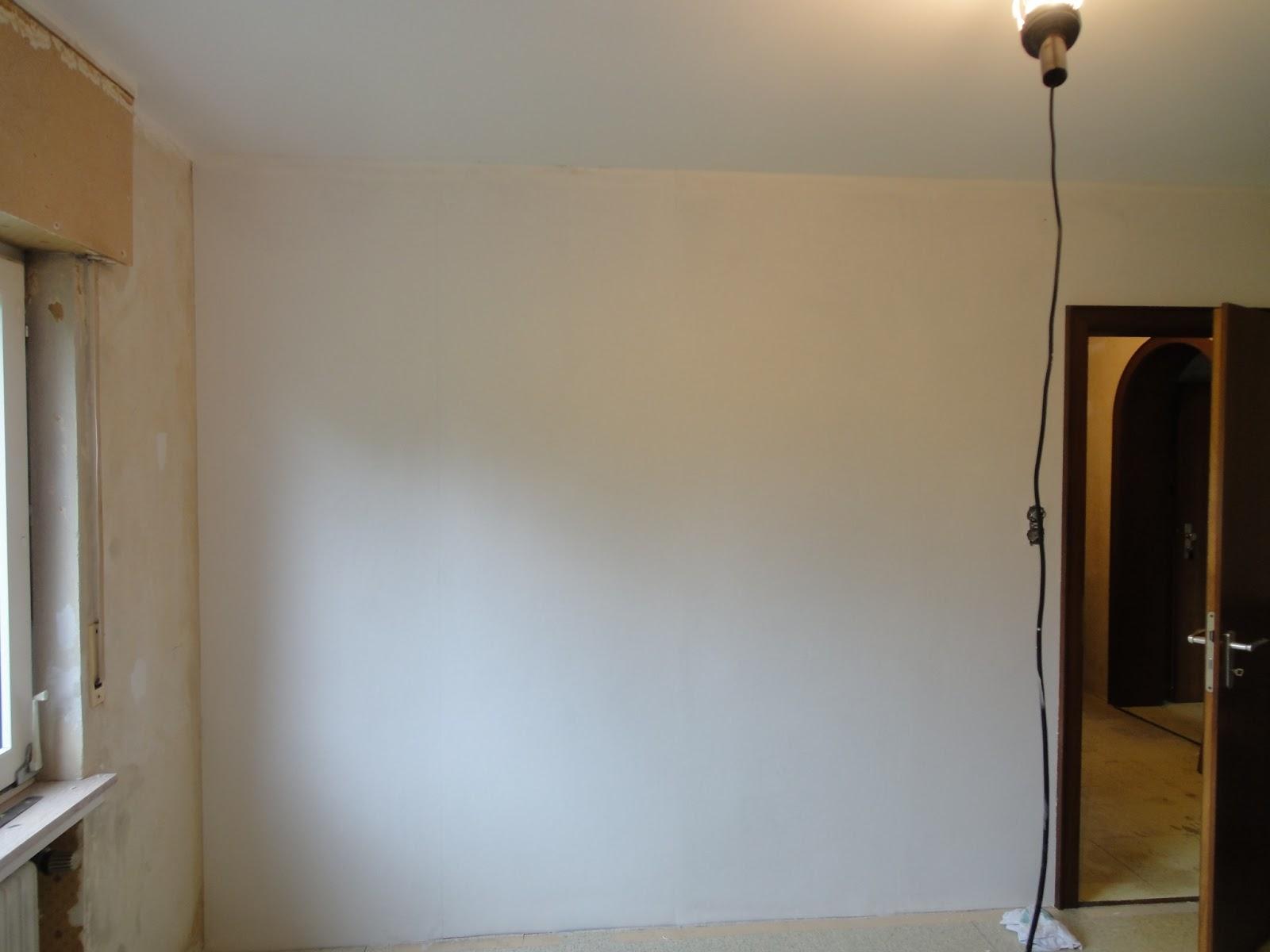 crafts & co.: unser neues heim -- tapezieren: das schlafzimmer
