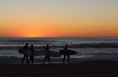 Dawn Surfing at Manly Beach