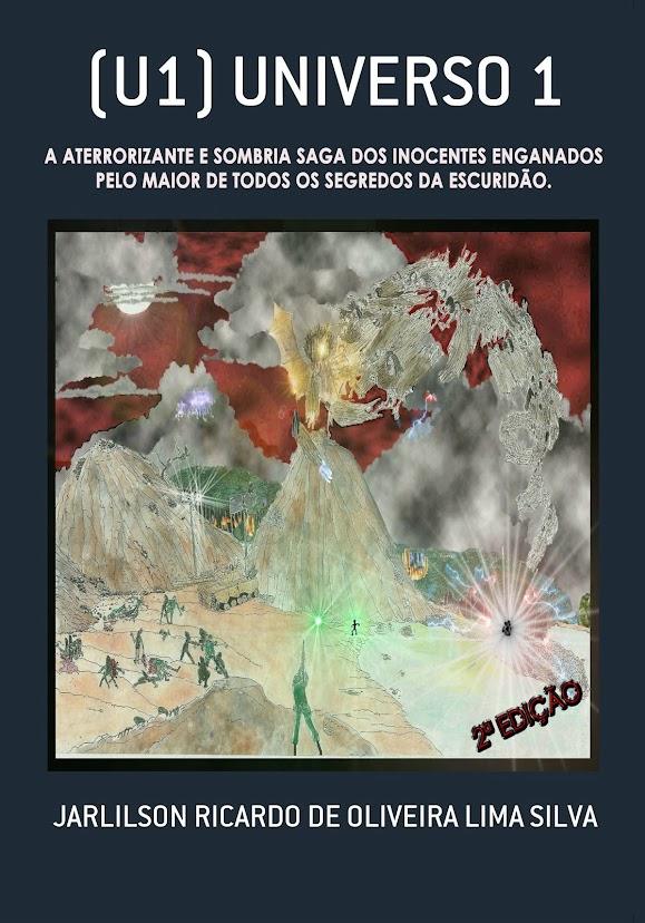 U1 (LIVRO) - A SAGA  DE FICÇÃO CIENTÍFICA/TERROR.