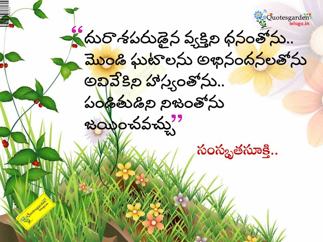 quotes from panchatantra - ancient indian quotes in telugu - best telugu solution quotes - tips for better life quotes  life quotes in telugu