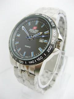 jam tangan swiss army | asli | Original | Rantai | tanggal | Pria | Stainless Steel | Murah | Grosir