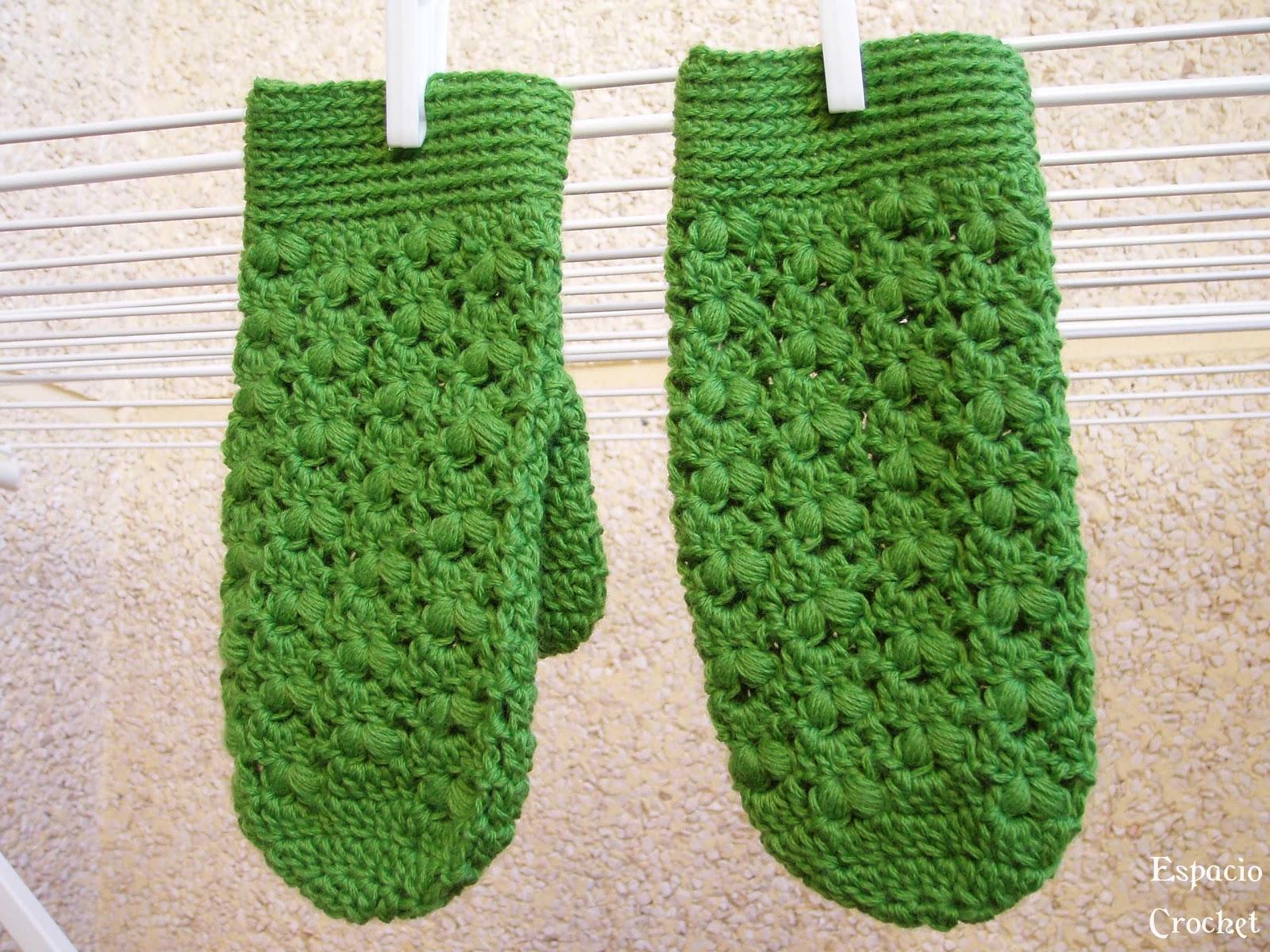Manoplas | Espacio Crochet
