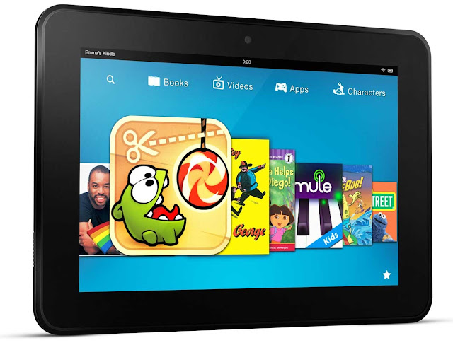 Kindle Fire HD, Kindle Fire, Kindle