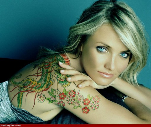 tattooed celebrities