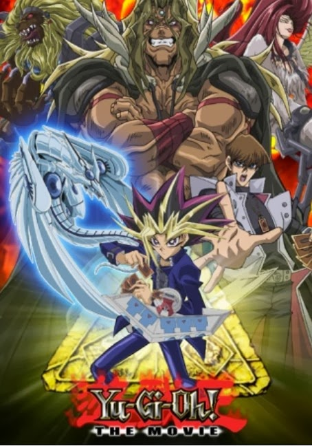 English: Yu-Gi-Oh!: The Movie Synonyms: Yugioh, Yu-Gi-Oh!, Yu-Gi-Oh!: Duel Monsters, Yugioh: Duel Monsters, Yu-Gi-Oh!: Pyramid of Light Japanese: 遊☆戯☆王 デュエルモンスターズ 光のピラミッド ,  Yu-Gi-Oh!: Hikari no Pyramid
