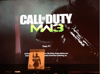 MW3 main menu