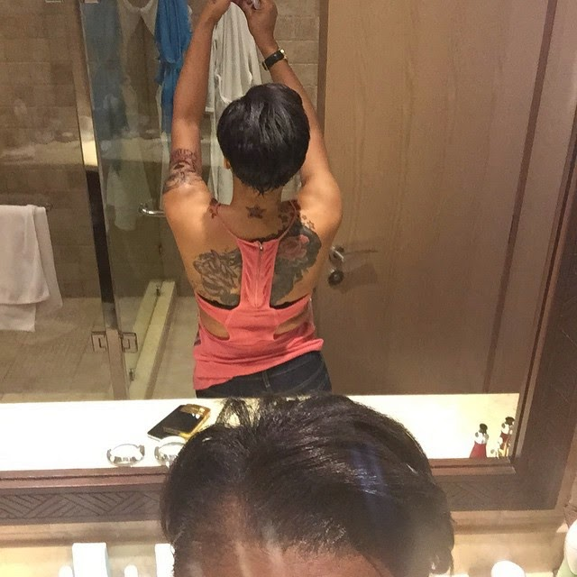 Photos: Read What Tonto Dikeh Said About Her Tattoos