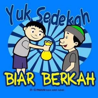 Yuk+Sedekah Gambar DP BBM Islami Terbaru