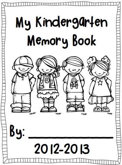Preschool Memory Book Cover Ideas : Kindertrips free memory book