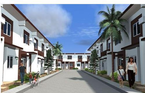 House finder affordable townhouse near sm molino - Four double cavite ...