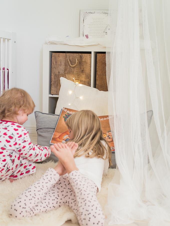 lasten iltasatupaikka, iltasatu lapsille, lukunurkkaus lapsille