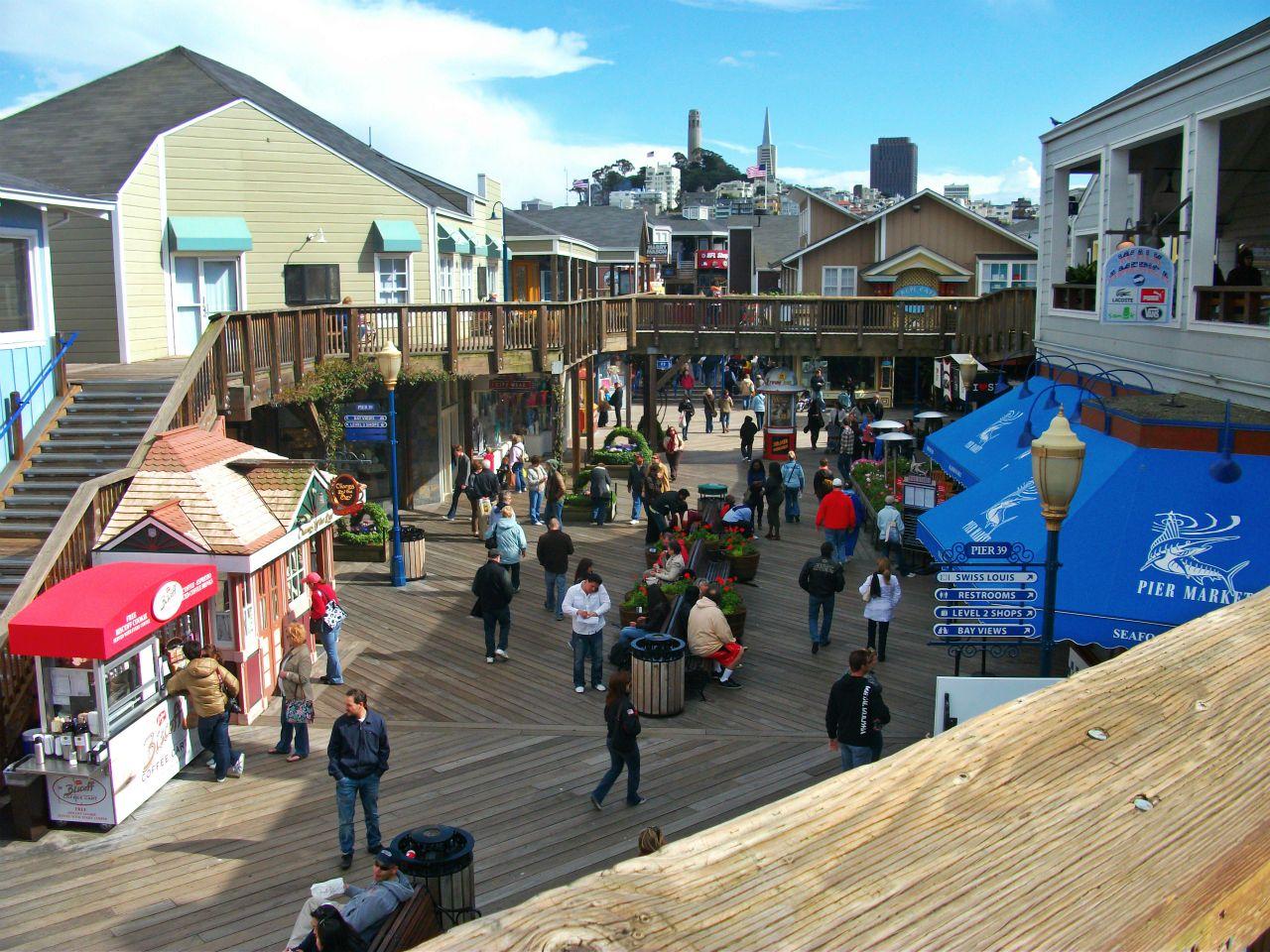 Fisherman's Wharf San Francisco Pier 39