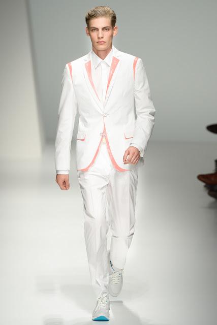 Men's Fashion Week 2012 Spring 2013 Ferragamo Pastel Accents